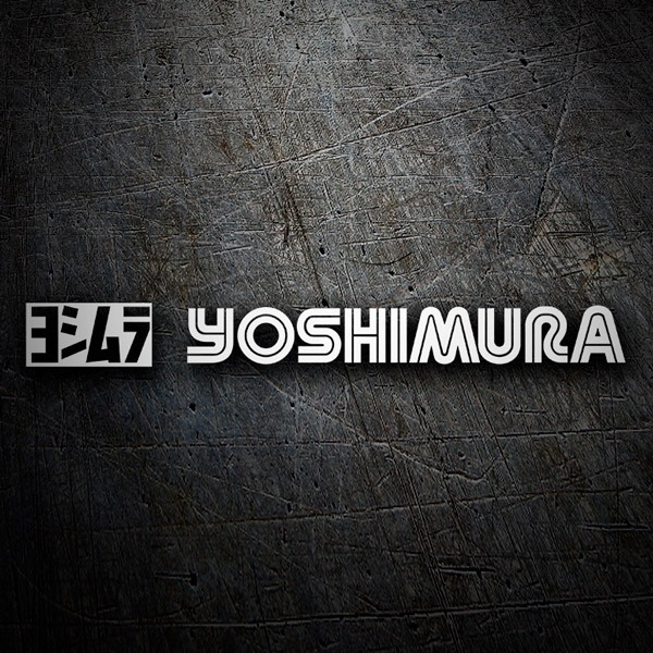 Car and Motorbike Stickers: Yoshimura