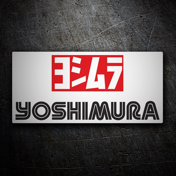 Car and Motorbike Stickers: Yoshimura 3