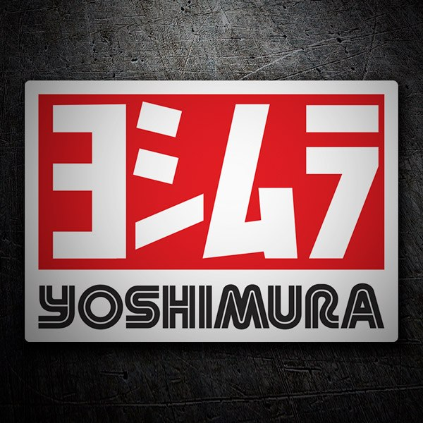 Car and Motorbike Stickers: Yoshimura 5