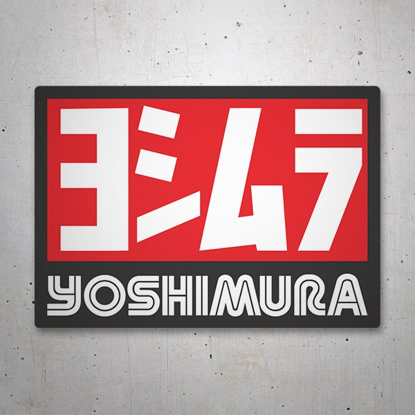Car and Motorbike Stickers: Yoshimura 6