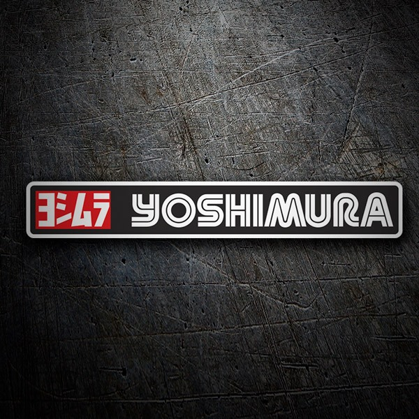 Car & Motorbike Stickers: Yoshimura 8