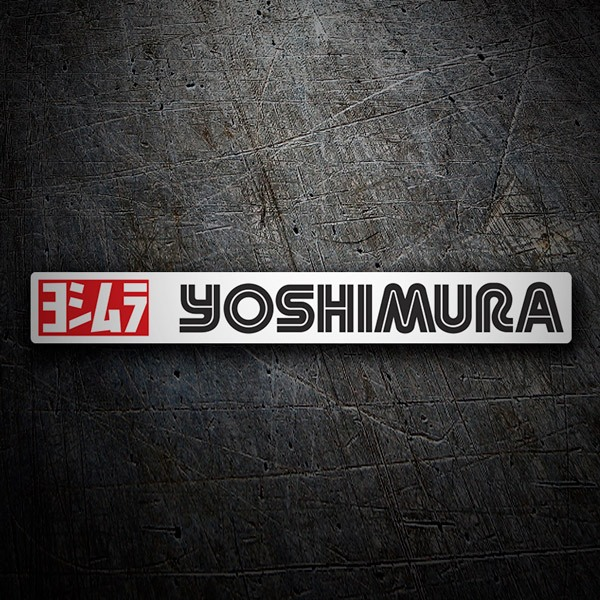 Car & Motorbike Stickers: Yoshimura 7