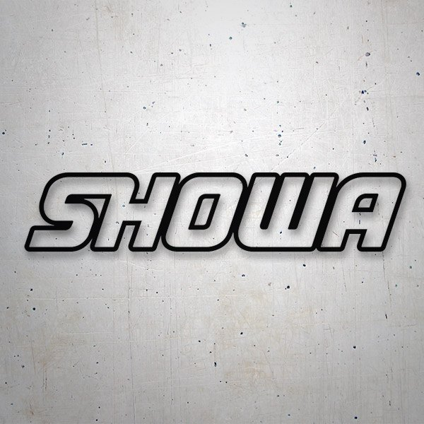 Car & Motorbike Stickers: Showa 2