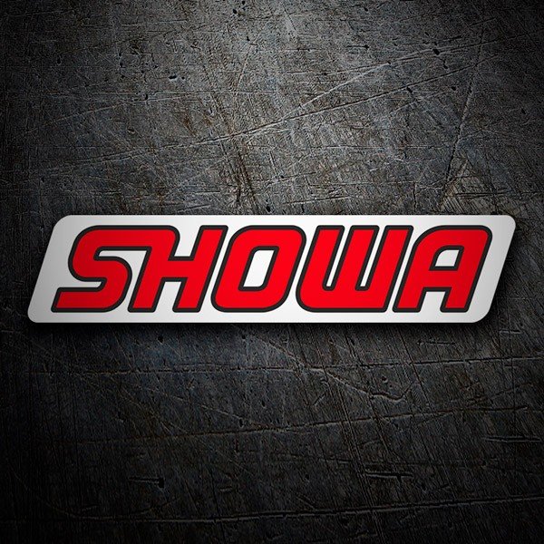 Car & Motorbike Stickers: Showa 3