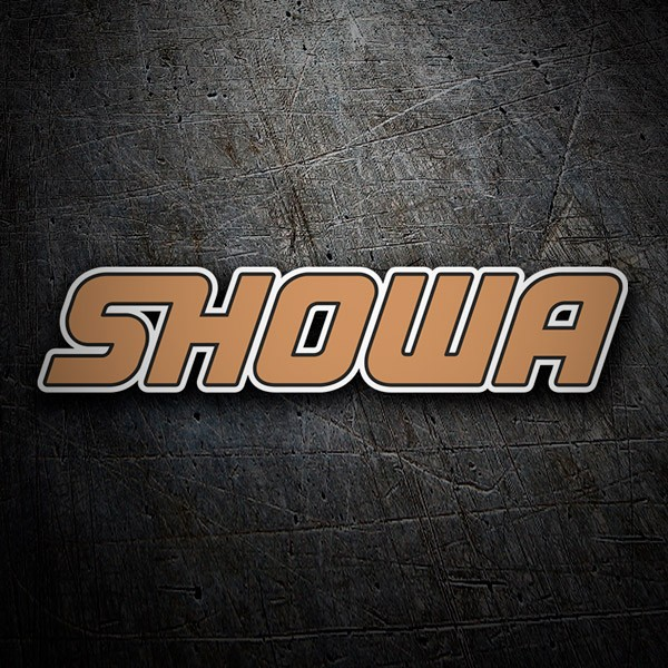 Car & Motorbike Stickers: Showa 4
