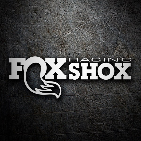 Car & Motorbike Stickers: Fox Shox Racing