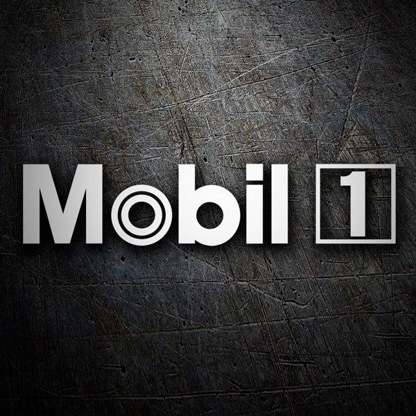 Car & Motorbike Stickers: Mobil 1 - 2