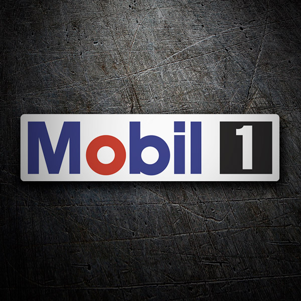 Car & Motorbike Stickers: Mobil 1 -3