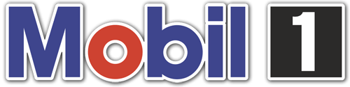 Car & Motorbike Stickers: Mobil 1 -4