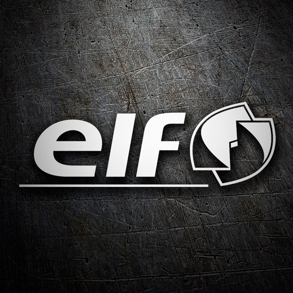 Car & Motorbike Stickers: Elf 2