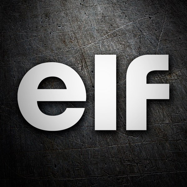 Car & Motorbike Stickers: Elf 1