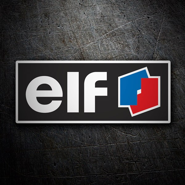 Car & Motorbike Stickers: Elf 3