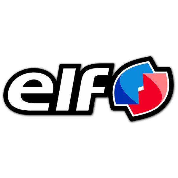 Car & Motorbike Stickers: Elf 5