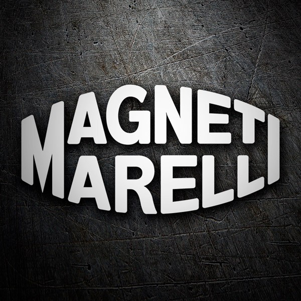 Car and Motorbike Stickers: Magnetimarelli