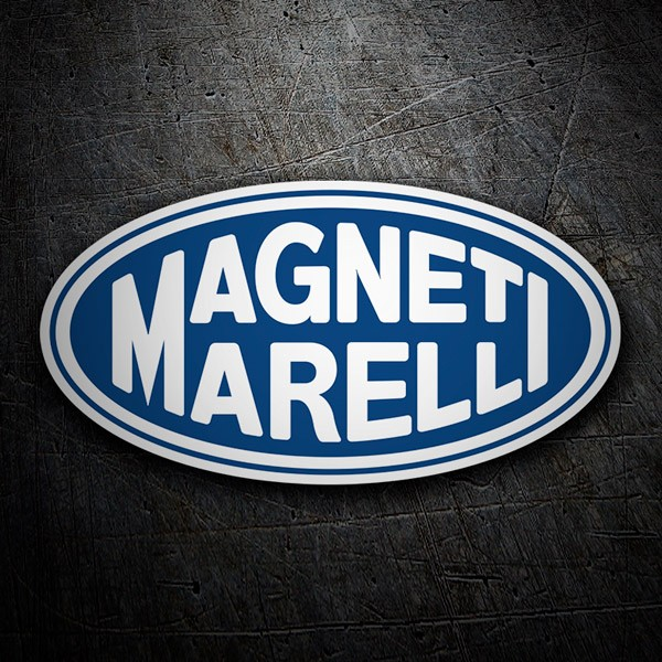 Car & Motorbike Stickers: Magneti Marelli 3