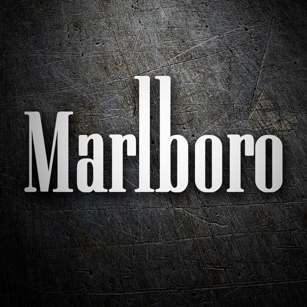 Car & Motorbike Stickers: Marlboro 2