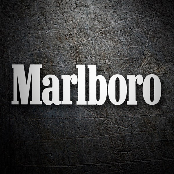 Car & Motorbike Stickers: Marlboro