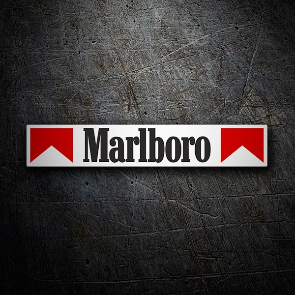 Car and Motorbike Stickers: Marlboro classic