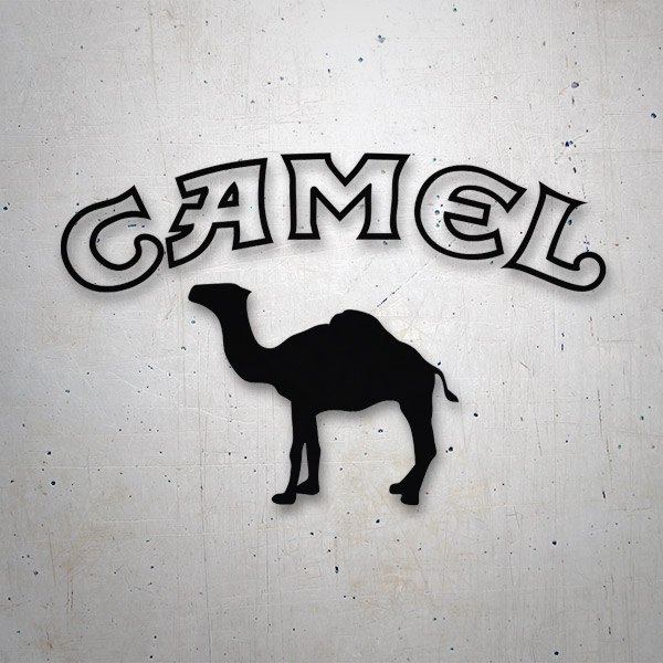 Car and Motorbike Stickers: Camel