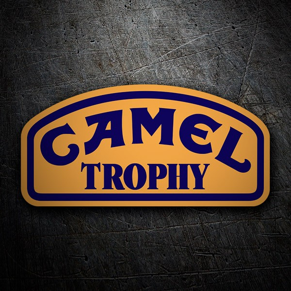 Car & Motorbike Stickers: Camel Trophy rally