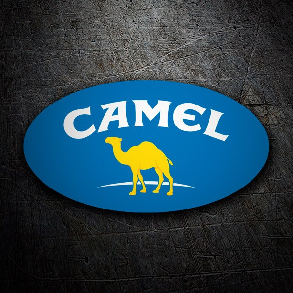 Car & Motorbike Stickers: Camel 2