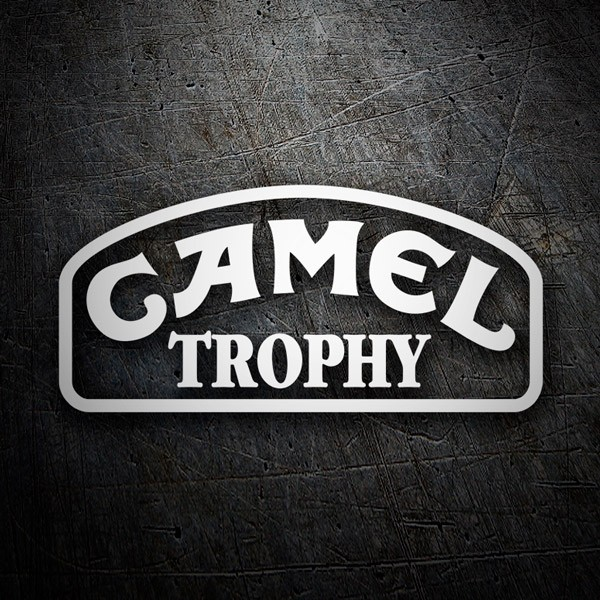 Car and Motorbike Stickers: Camel Trophy