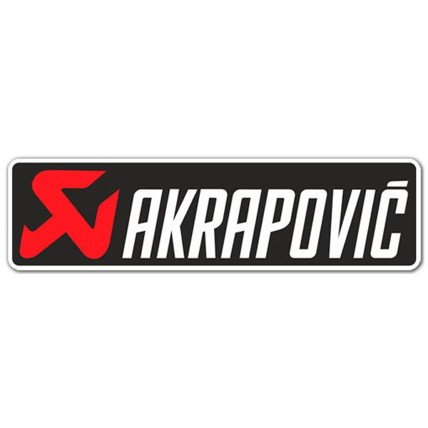Car and Motorbike Stickers: Akrapovic