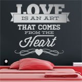 Wall Stickers: Love is an Art 2