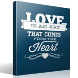 Wall Stickers: Love is an Art 3