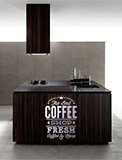 Wall Stickers: The Best Coffee Shop Fresh 6