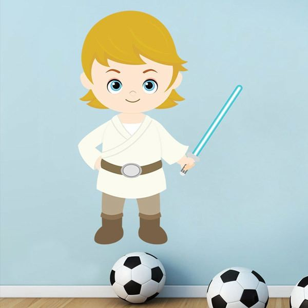 Stickers for Kids: Luke Skywalker