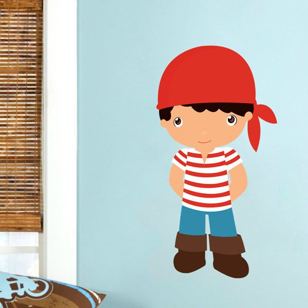 Stickers for Kids: Cabin boy