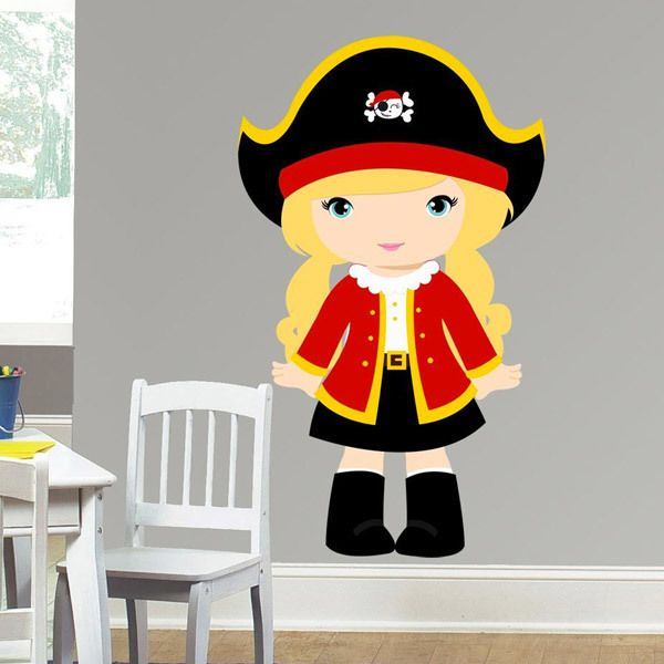 Stickers for Kids: Captain red