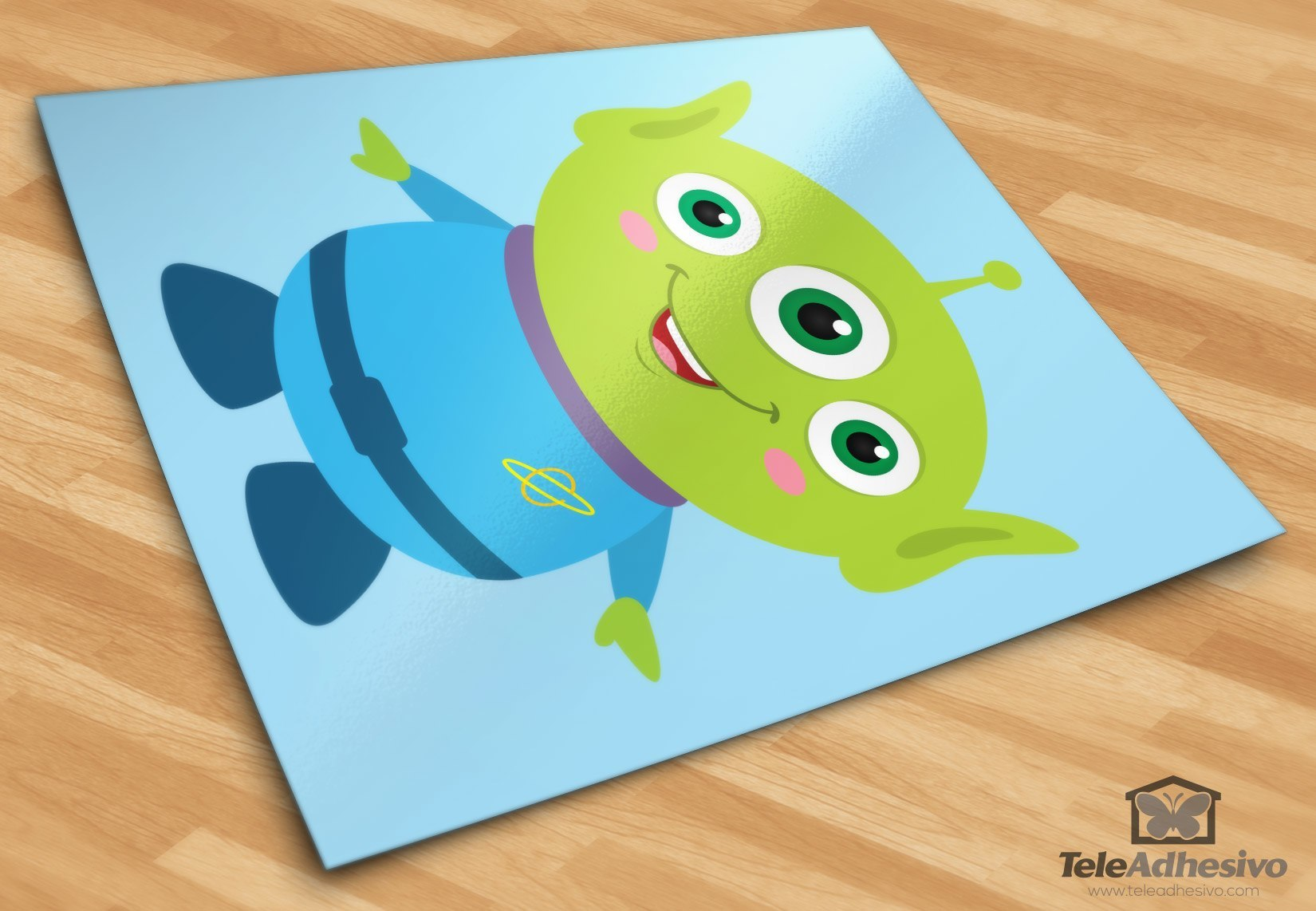 Stickers for Kids: Martian of the Pizza Planet, Toy Story