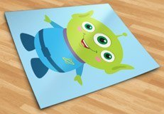 Stickers for Kids: Martian of the Pizza Planet, Toy Story 5