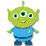 Stickers for Kids: Martian of the Pizza Planet, Toy Story 6