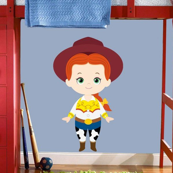 Stickers for Kids: The cowgirl Jessie, Toy Story