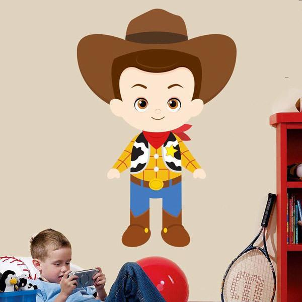 Stickers for Kids: Sheriff Woody, Toy Story
