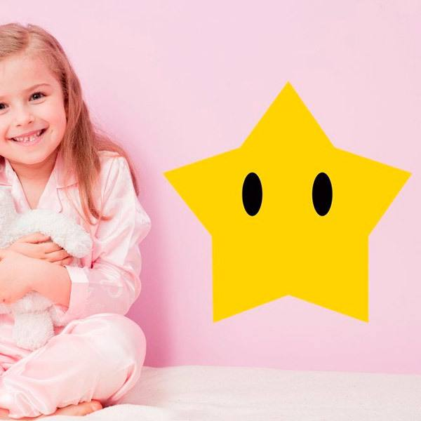 Stickers for Kids: Big Star in Mario Bros