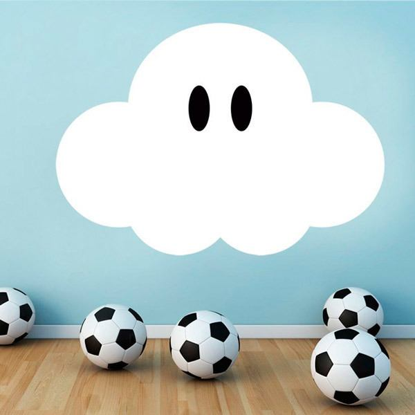 Stickers for Kids: Super Mario Cloud