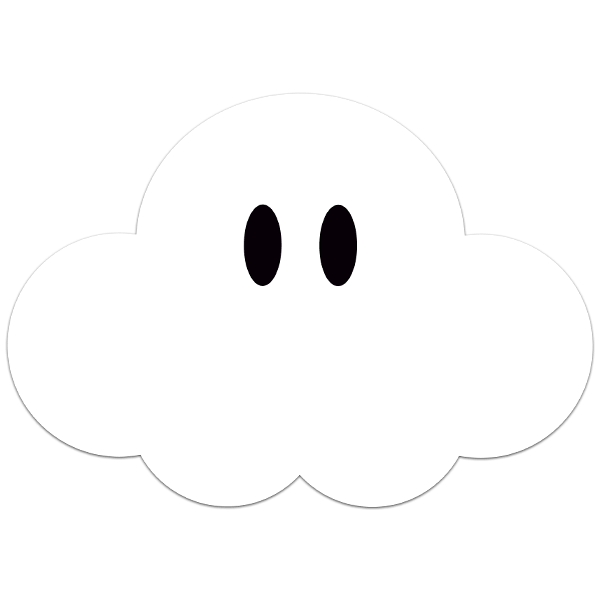 Super Mario Cloud 18368 on Color By Numbers For Kids