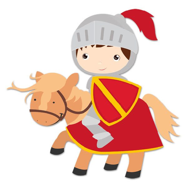 Stickers for Kids: Red Knight
