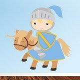 Stickers for Kids: Blue Knight 3