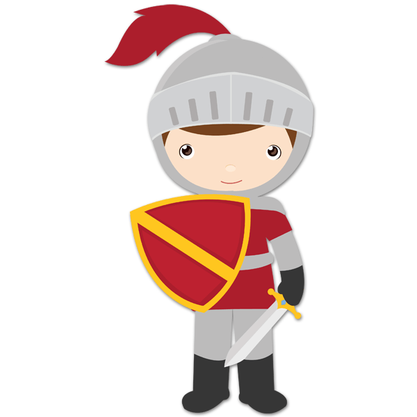 Stickers for Kids Garnet knight