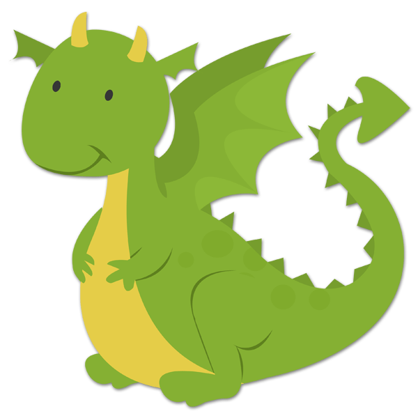Stickers for Kids: Dragon  0