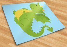 Stickers for Kids: Dragon  5