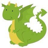 Stickers for Kids: Dragon  6