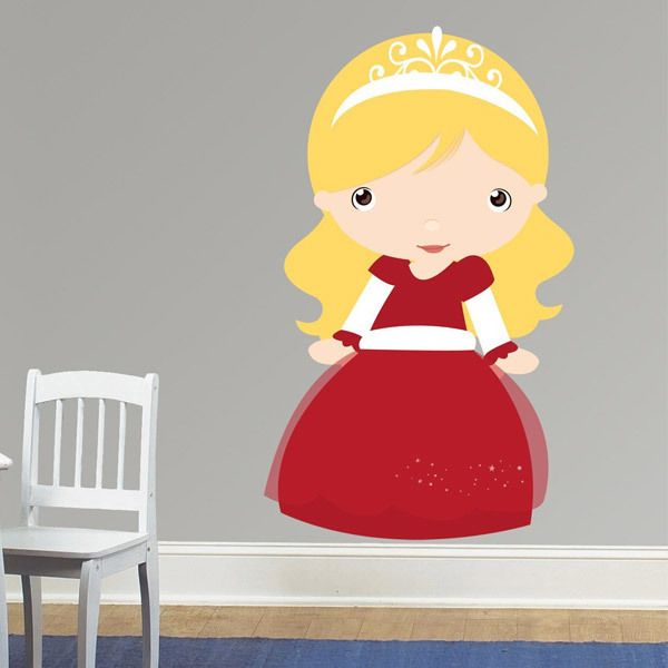 Stickers for Kids: Blonde princess