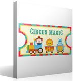 Stickers for Kids: Ticket Circus Magic 4