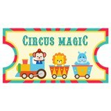 Stickers for Kids: Ticket Circus Magic 6